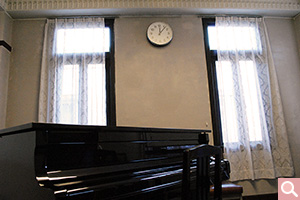 1号館 ピアノレッスン室
