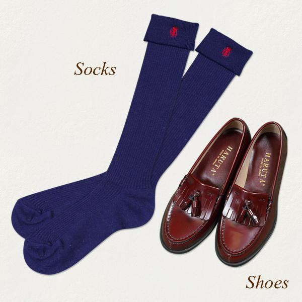 制服: くつ、靴下